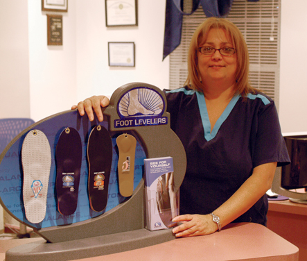 Foot Levelers Custom Orthotics